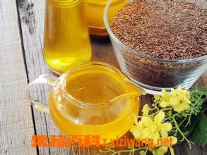 果蔬百科冷榨亚麻籽油的功效与作用