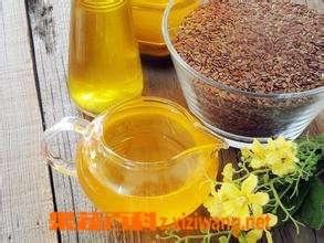冷榨亚麻籽油的功效与作用